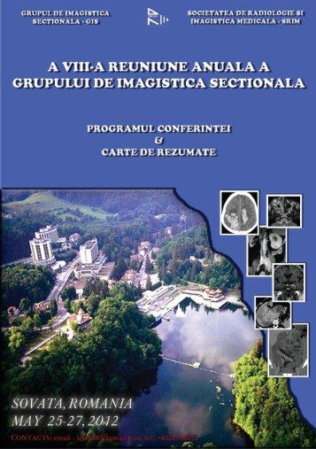Sovata - Societatea de Radiologie şi Imagistică Medicală din România