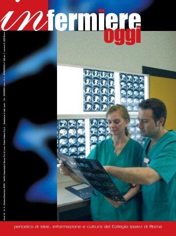"""Rivista """"Infermiere Oggi"""" numero 4 anno 2005 - Fratelli Ospedalieri"""