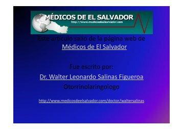 Dr. Walter Leonardo Sal - Medicos de El Salvador