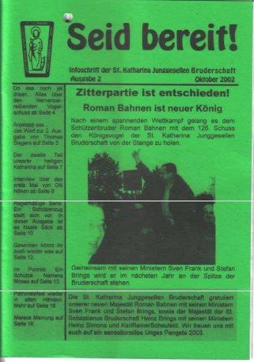2002 - St. Katharina Junggesellen Bruderschaft