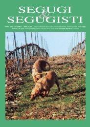 SEGUGI & SEGUGISTI Anno XVII Numero 1 - Aprile 2010 - Segugi e ...