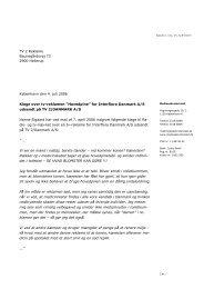 """Klage over tv-reklamen """"Hovedpine"""" for Interflora ... - Kulturstyrelsen"""