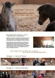 Pferde lesen - Parelli Instruktoren
