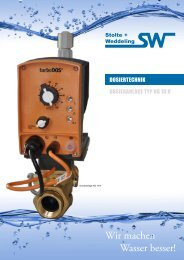 Datenblatt Dosiertechnik (PDF) - Stolte + Weddeling GmbH