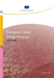 European Union Drugs Strategy