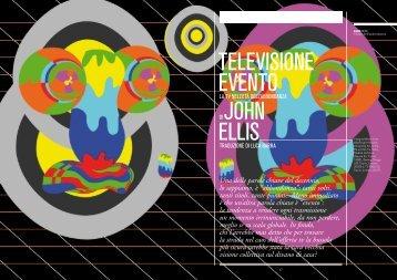 TELEVISIONE EVENTO JOHN ELLIS - LINK | Idee per la televisione