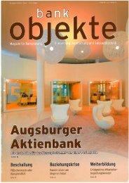 Bank Objekte, 2011-02 Diskretion auf Knopfdruck - Goldbach Kirchner