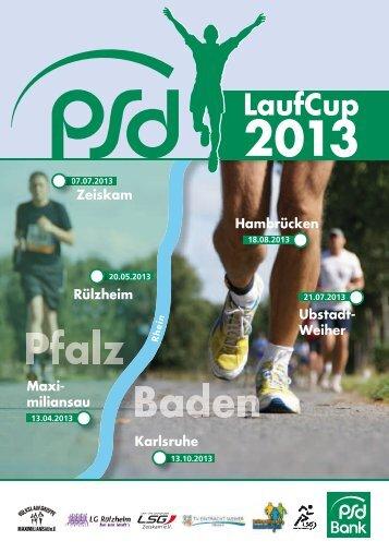 Ausschreibung PSD LaufCup 2013 (2.66 MB) - LSG Karlsruhe