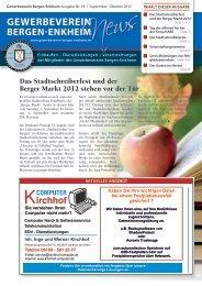 Am 08.09.2012 Ab 11 Uhr - Gewerbeverein Bergen-Enkheim e.V.