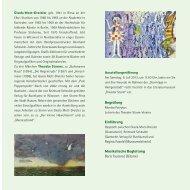 gibt es den Flyer als PDF - Theodor Storm - Museum Heiligenstadt