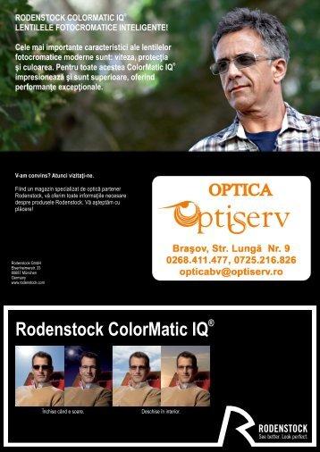 Rodenstock ColorMatic IQ - Optiserv