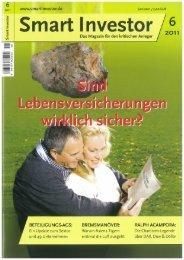 Smart Investor 06/2011 - Yan C. Steinschen