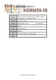 Title La descrizione del Peloponneso di Andrea ... - HERMES-IR
