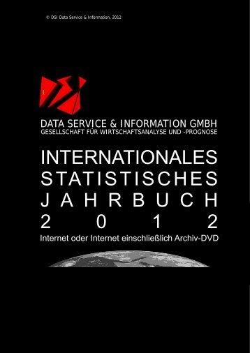 internationales statistisches jahrbuch 2 0 1 2 - DSI Data Service ...
