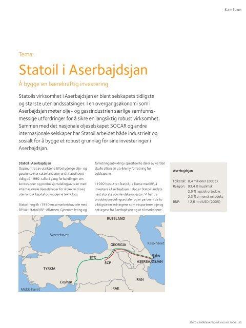 utfordringene - Statoil