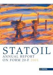 20F omslag - Statoil