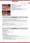 Instructions (PDF,1MB) - Bernina - Page 4