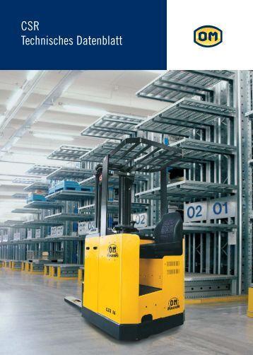 CSR Technisches Datenblatt