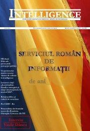 numărul 17, martie 2010 - Serviciul Român de Informaţii