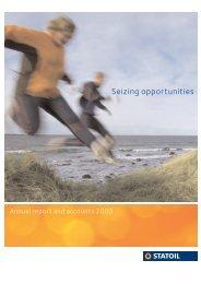2003 - Statoil