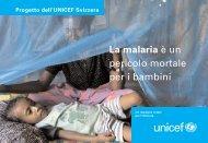La malaria è un pericolo mortale per i bambini - Unicef