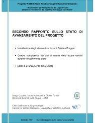 Relazione Pumping System Giugno 2007 - Centro Volta