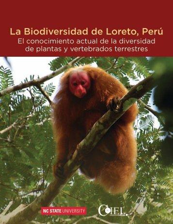 La Biodiversidad de Loreto, Perú