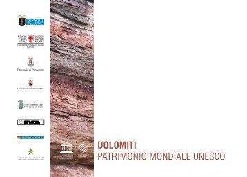 DOLOMITI PATRIMONIO MONDIALE UNESCO - Provincia di Udine