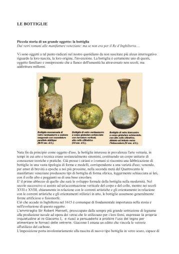 LE BOTTIGLIE - Consorzio del vino Nobile di Montepulciano