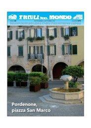 Pordenone, piazza San Marco - Ente Friuli nel Mondo