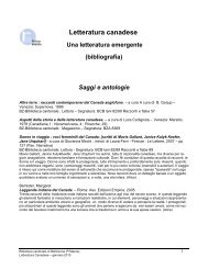 Bibliografia - Sistema bibliotecario ticinese