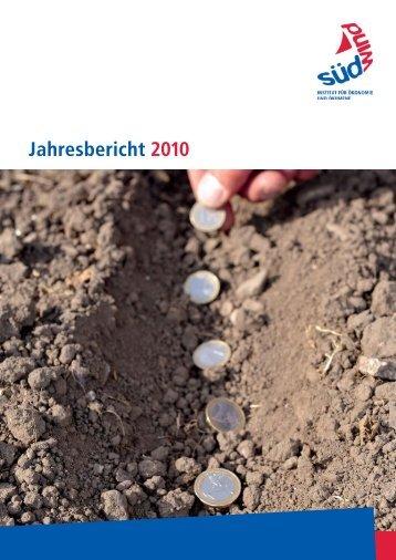 Download Jahresbericht 2010 - SÜDWIND-Institut