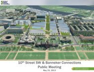 10 Street SW & Banneker Connections Public Meeting