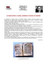 Larry Beinhart - Il bibliotecario - Giunti, 2008 - Collegio San Carlo
