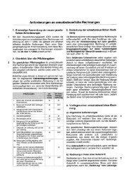 Anforderungen an umsatzsteuerliche Rechnungen