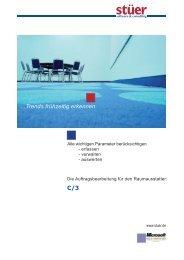 ...Trends frühzeitig erkennen C/3 - Stuer Software & Consulting GmbH