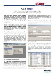 C/3 carpet - Stuer Software & Consulting GmbH