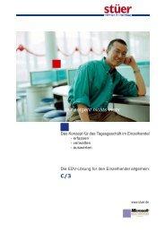 ...mir entgeht nichts mehr C/3 - Stuer Software & Consulting GmbH