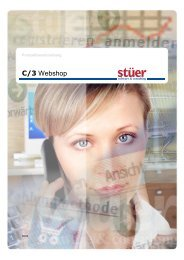 C/3 Webshop - Stuer Software & Consulting GmbH