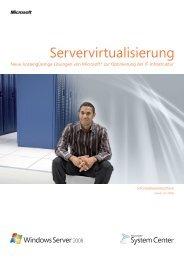 Microsoft-Servervirtualisierung - ProTechnology