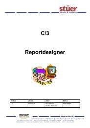 C/3 Reportdesigner - Stuer Software & Consulting GmbH