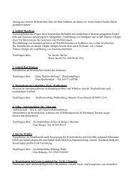 Referenzliste - STUCKHAUS Scherf und Ritter GmbH