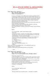 Lista de correo 'al-Awda-español' - Nodo 50