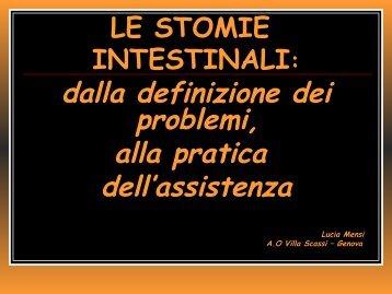 Lucia Mensi – La gestione delle stomie intestinali - by Hideas
