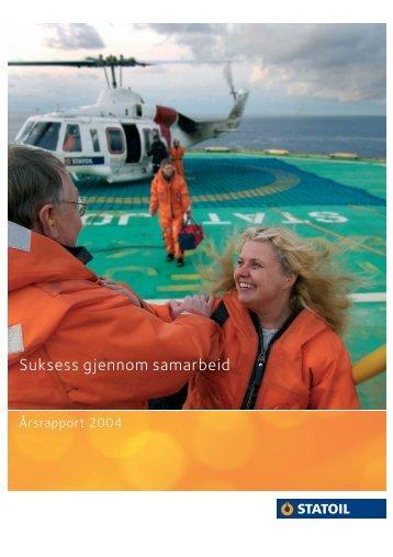Suksess gjennom samarbeid - Statoil