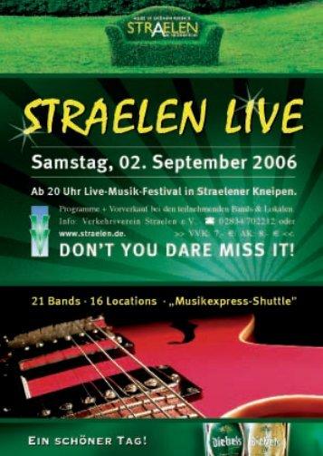 Straelen Live_2006 - Stadt Straelen
