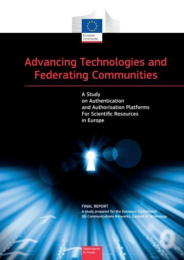 Advancing Technologies and Federating Communities