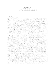 6. Un laboratorio quadrimensionale - Nuova Specie