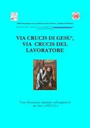 scarica il testo della Via Crucis - Pastorale sociale e del Lavoro ...