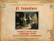 Il Trovatore - Musica, musica, musica...SUONATE!!!